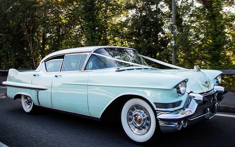 Surrey Cadillacs-1957 Cadillac Sedan de Ville