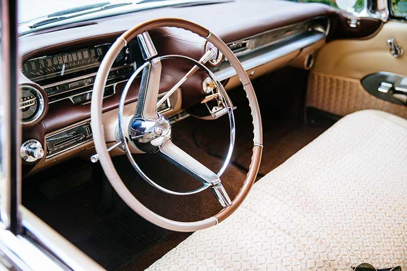 Surrey Cadillacs-1959 Cream Cadillac
