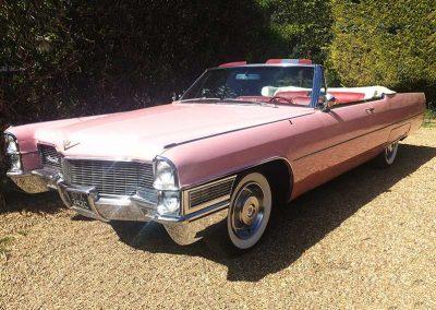 Surrey Cadillacs-Pink Caddy