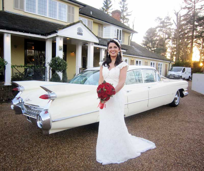 Surrey Cadillacs Wedding