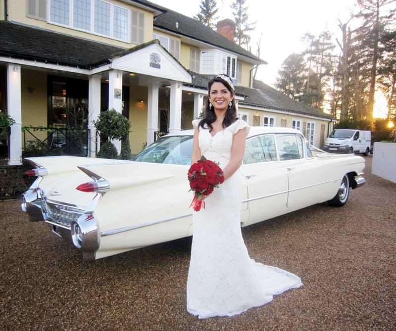 Surrey Cadillacs Wedding