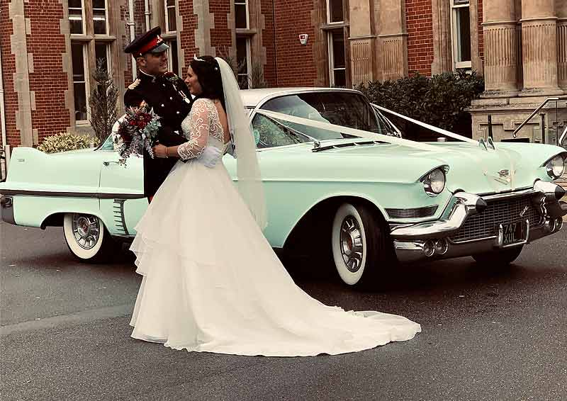 Surrey Cadillacs Army Wedding
